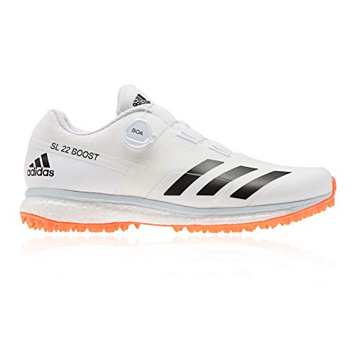 adidas 22YDS Boost Cricket Shoes - SS21-6.5 White