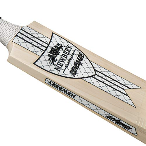 Newbery Cricket Unisex's Renegade Performance Cricket Bat, White/Silver, LIGHT - SHORT HANDLE