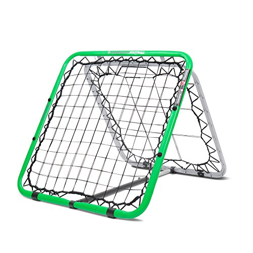 Crazy Catch Football Rebound Net Double sided - Premium -Quality -Erratic bounce - Training Aid - Volleys - First Touch - Headers - Goalkeepers