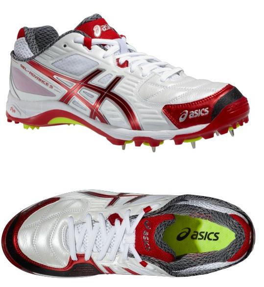 2014 Asics Gel Advance 5 Cricket Shoes