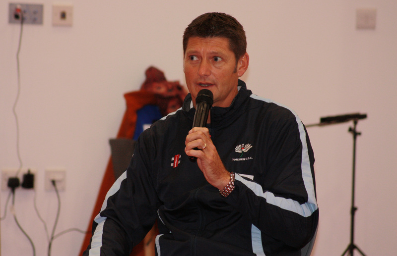 Yorkshire County Cricket Club Director of Cricket, Martyn Moxon