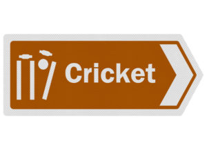 cricket sign