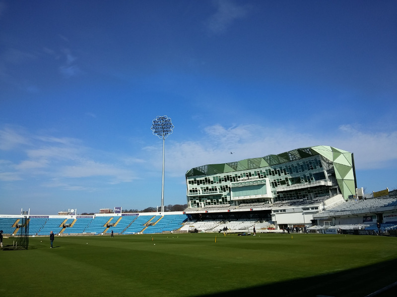 headingley in april