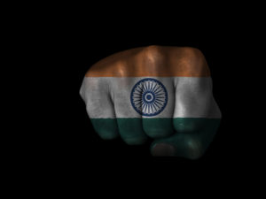 india fistbump