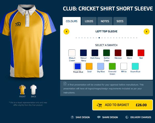 masuri cricket shirt