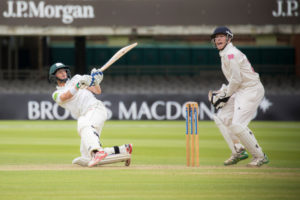 bill root sweeps for leeds bradford mccu at lords