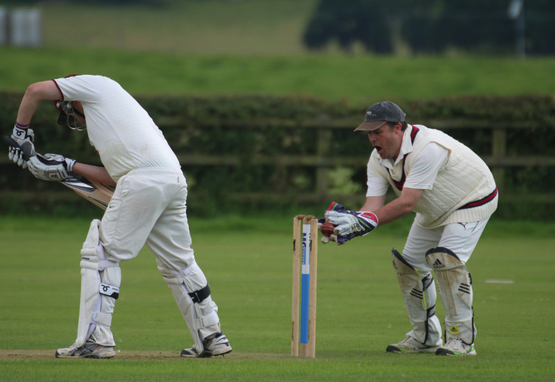 Skipton Cricket club wicket-keeper