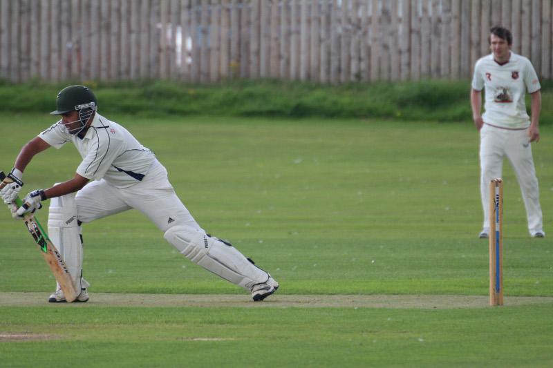 Skipton Cricket Club batting