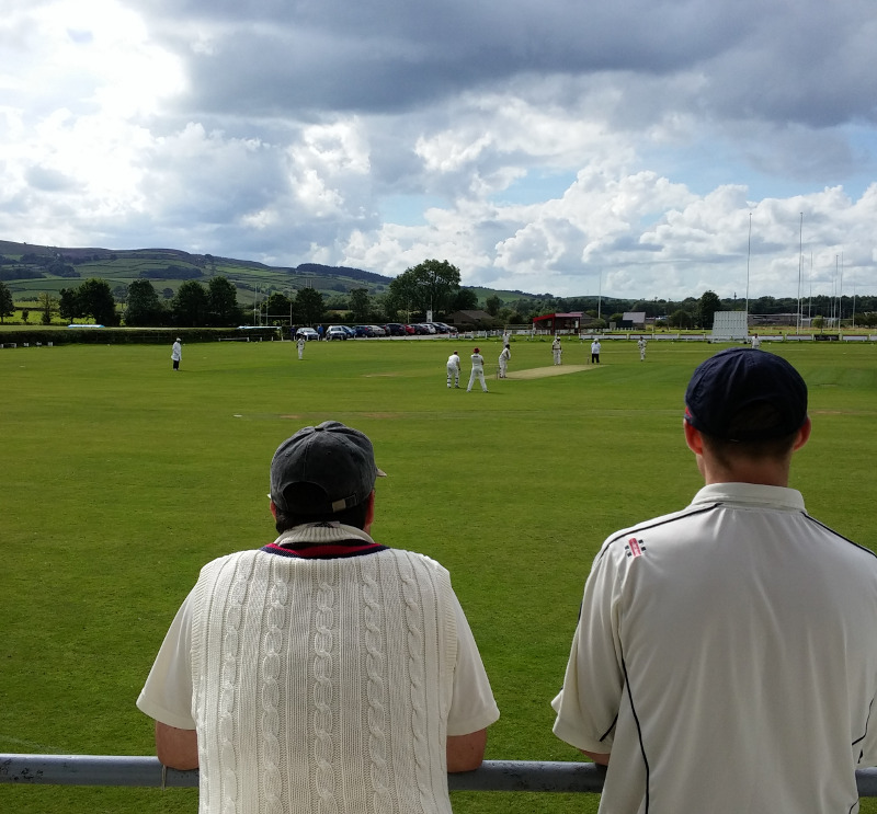 View from Skipton Cricket Club
