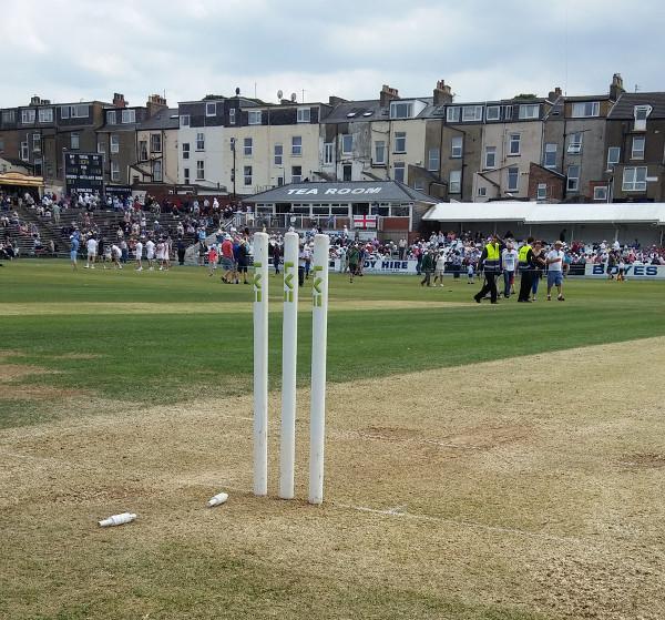 scarborough cricket festival wicket