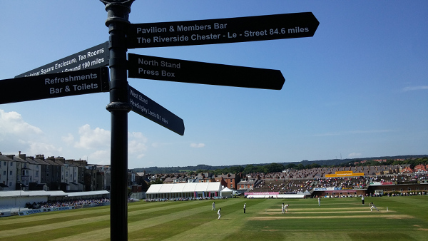 scarborough cricket club sign