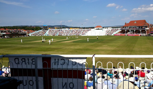 view from scarborough cricket club tea room