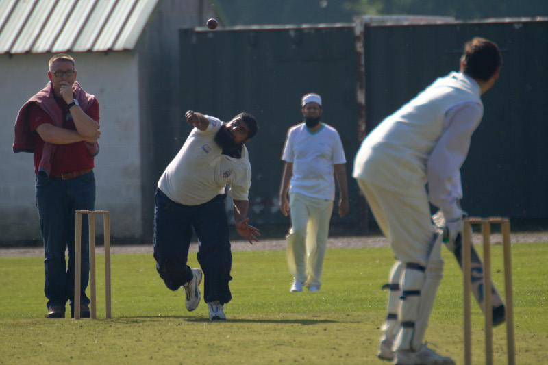 imams and vicars cricket match in dewsbury