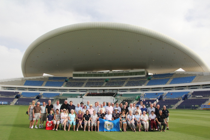 Yorkshire CCC Supporters Tour 2016