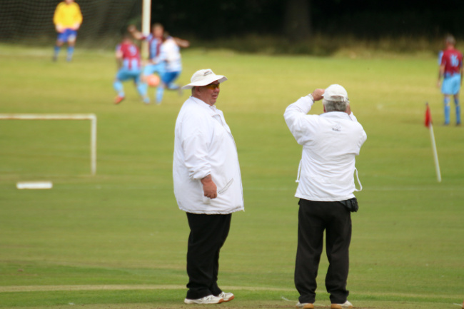 cricket umpires talk