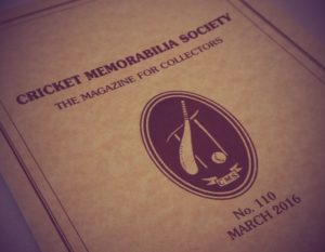 Cricket Memorabila Society