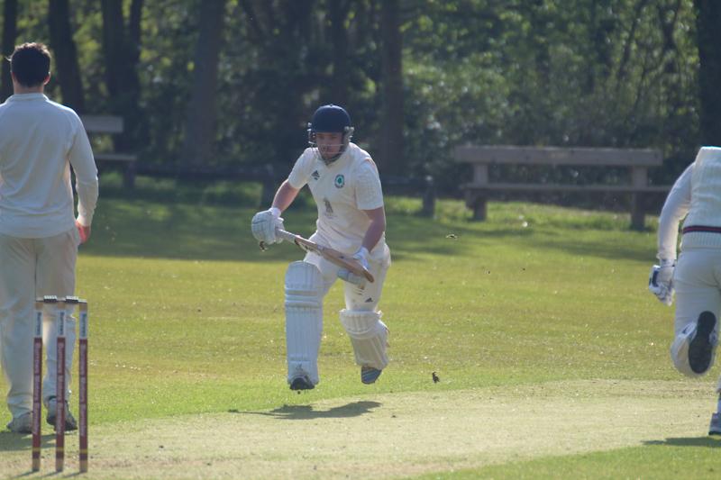 batsman running between the wickets