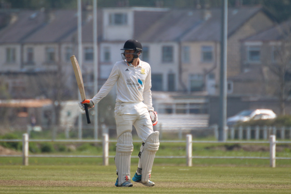 Jack Edgar hits his fifty