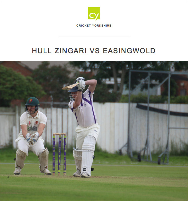 Hull Zingari Cricket Club vs Easingwold Cricket Club