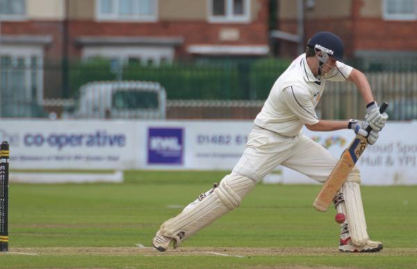 batsman defends