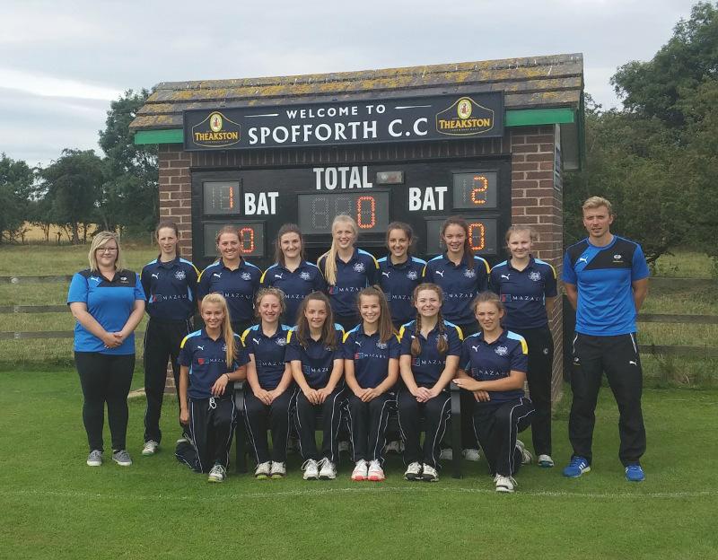 Yorkshire U17 girls cricket