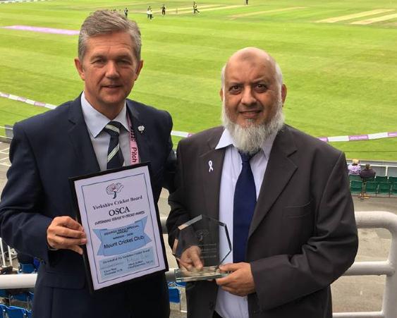Mount cricket Club at Yorkshire County Cricket Club