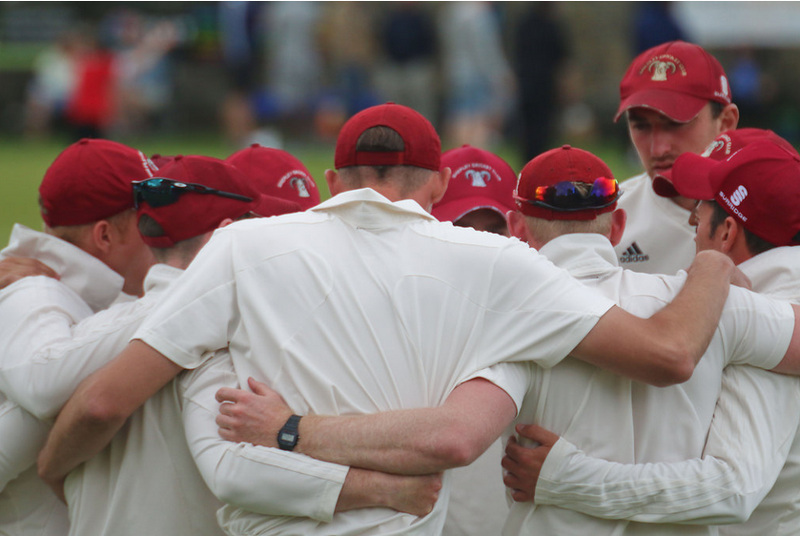 shepley cricket club huddle