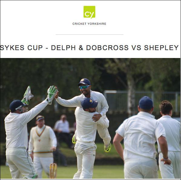 cricket yorkshire sykes cup photos