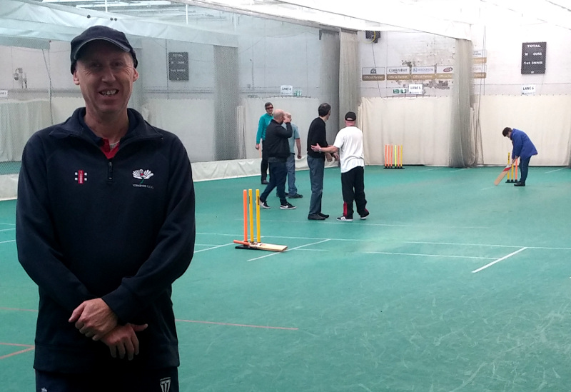 john garbett, captain of yorkshire visually impaired cricket team