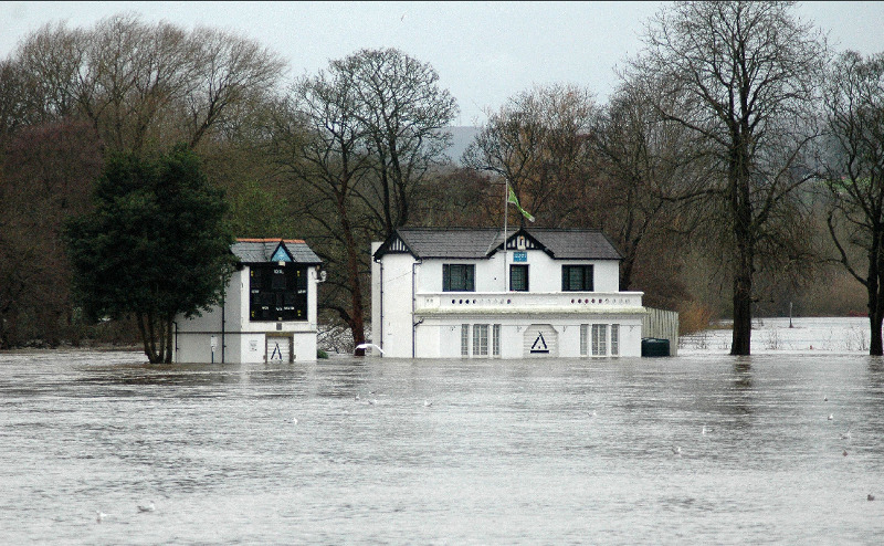 saltaire cricket club flood