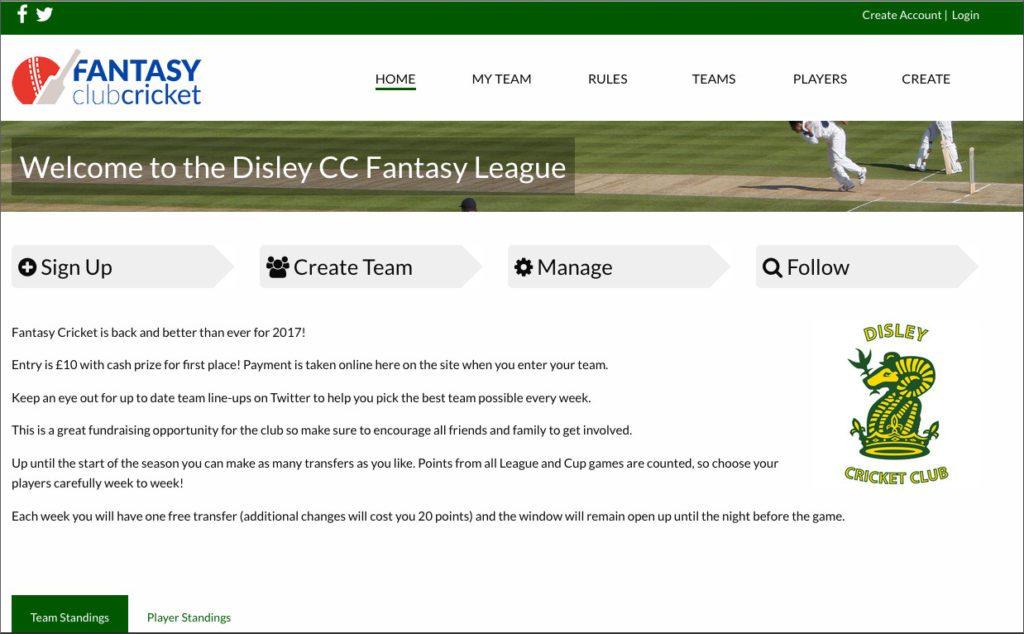 fantasy club cricket customisation