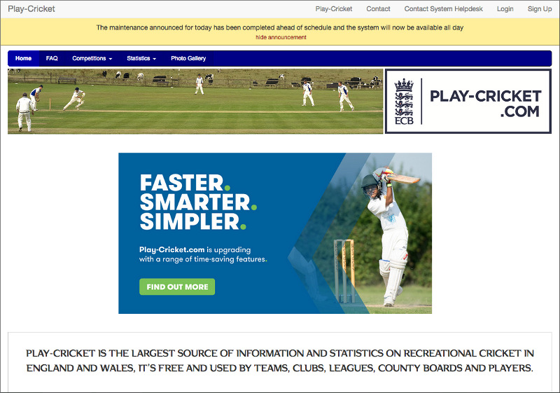 play-cricket.com