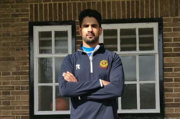 Leeds Bradford MCCU captain Moin Ashraf