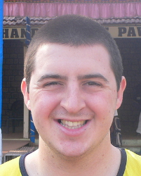 cricketer Tom Hardman