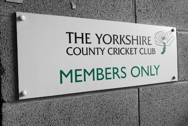 Yorkshire CCC members