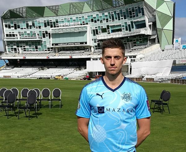 yorkshire ccc bowler ben coad