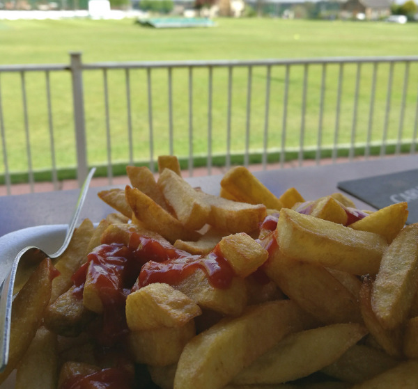 chips at hanging heaton
