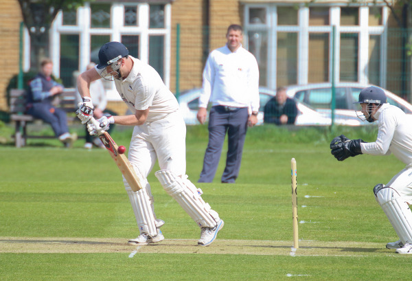 hanging heaton batsman defends
