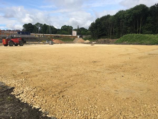 bradford park avenue cricket ground work