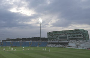 Yorkshire CCC under lights