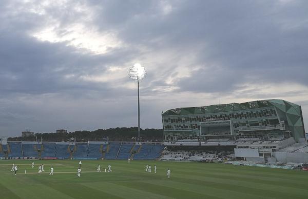 Yorkshire CCC under lights