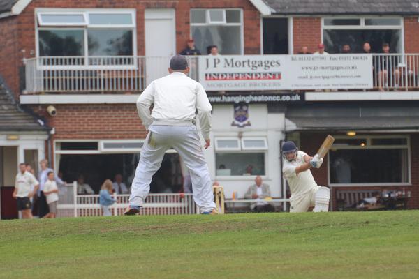 Hanging Heaton cricket club pitch