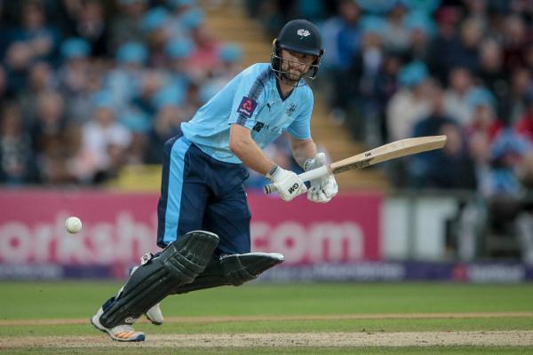 Adam Lyth bats for Yorkshire Vikings