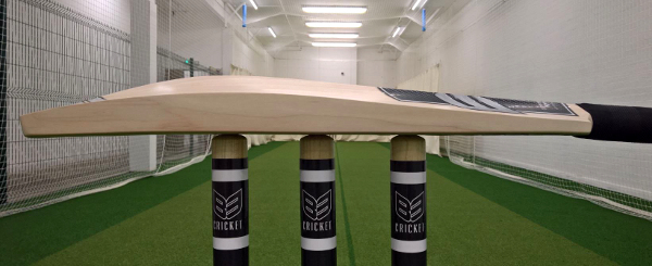 B3 Cricket stumps and cricket bat