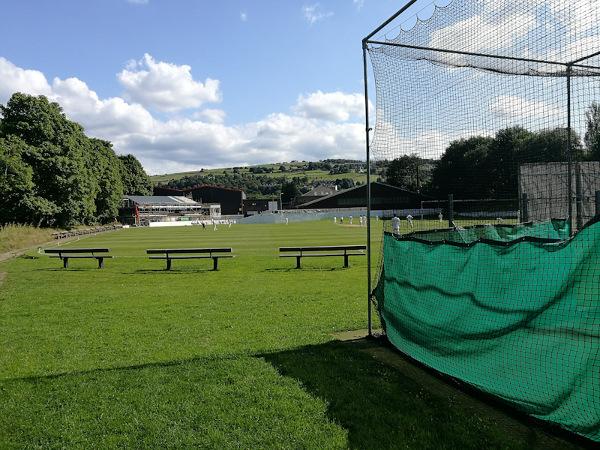 Sowerby Bridge Cricket Club view summer 2017