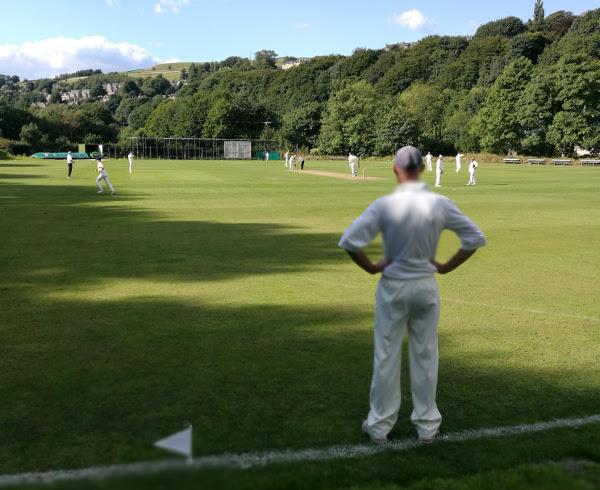 Cricket in Sowerby bridge