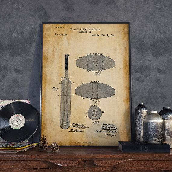 cricket bat patent