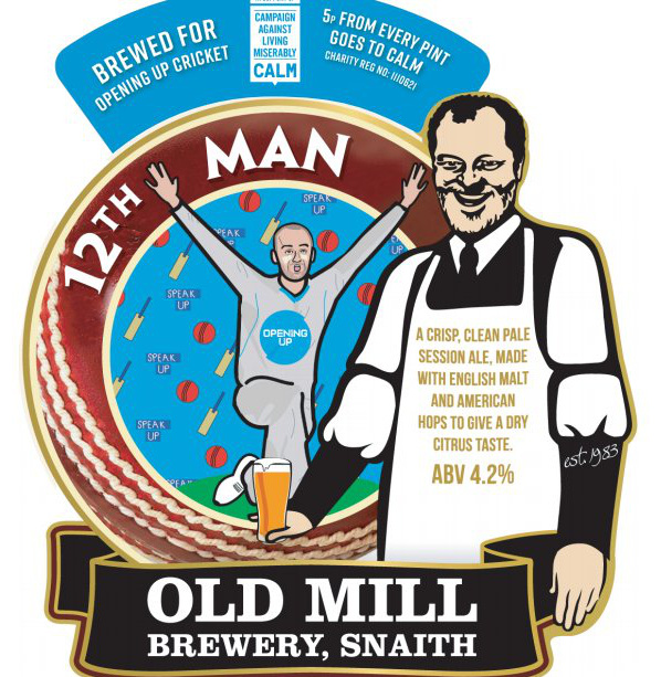 2th man beer by old mill brewery