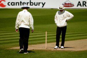 alex wharf cricket umpire