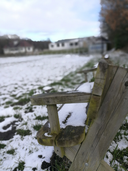 shipley providence cricket club in the snow